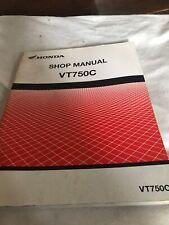 HONDA VT750C 2003 WORKSHOP SERVICE MANUAL