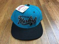 Vintage Florida Marlins Snap Back Hat MLB Adjustable Baseball Cap Deadstock