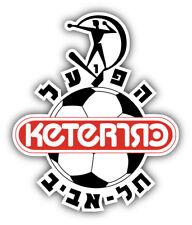Hapoel Tel Aviv FC Israel Soccer Football Car Bumper Sticker Decal 4'' x 5''