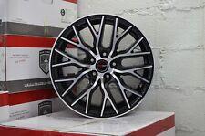 4 GWG Wheels 18 inch Black FLARE Rims fits LEXUS ES 350 2007 - 2018