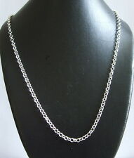 925 Sterling Silver Extra Long Belcher Chain 36 In necklace