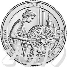 Lowell National Park Quarter 2019 D Mint