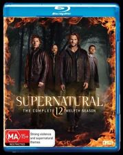 Supernatural  Complete Twelfth Season 12 Blu-ray NEW Region B