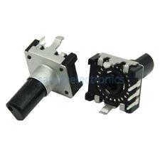 10Pcs Rotary encoder EC12 Audio digital potentiometer 15mm handle