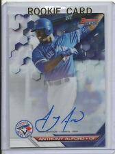 2016 Bowman Best Anthony Alford Auto Rookie Card RC #B16-AA Mint (Blue Jays)