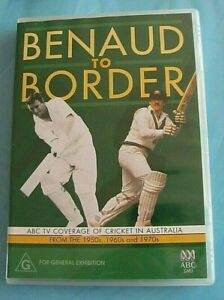 BENAUD TO BORDER DVD Cricket Australia Region 4