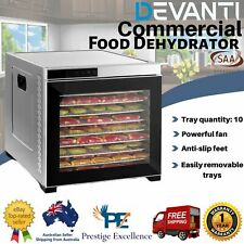 DEVANTi Commercial Food Dehydrator - 304 Stainless Steel