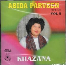ABIDA PARVEEN - KHAZANA - VOL 5 - NEW SOUND TRACK CD - FREE UK POST