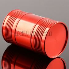 RED Aluminum CNC Oil Drum Fuel Tank 94*60MM FOR RC NITRO 1/10 1/8 Rock Crawler