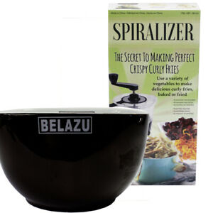 Vegetable Spiralizer - ** Free Ceramic Bowl with every order! **