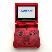 Nintendo Game Boy Advance GBA SP Clear Red System AGS 101 Brighter NEW