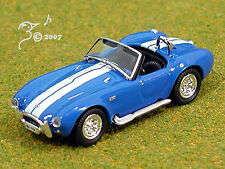Die Cast Vintage Blue 1965 Shelby Cobra Ho Scale 1:87 by Model Power