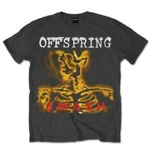The Offspring Smash 20 - Official Unisex Adults Charcoal T-Shirt