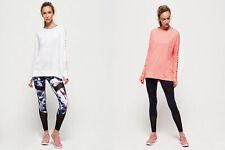 Superdry Womens Active Studio Luxe Long Sleeve Top