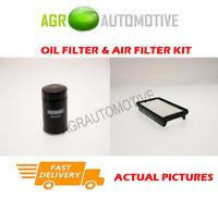PETROL SERVICE KIT OIL AIR FILTER FOR SUZUKI SX4 1.6 107 BHP 2006-12