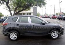 2013-2017 Mazda CX-5 8Pc Chrome Pillar Post Stainless Steel Trim Door Cover