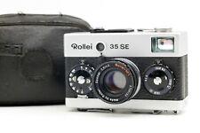 【Near MINT】 Rollei 35 SE 35mm Film Camera Sonnar 40mm f/2.8 Lens Case From JAPAN