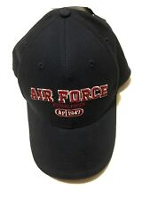 Fire for Effect Navy Embroidered Air Force Established 1947 Design Premium Cap