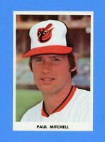 1975 PAUL MITCHELL  BALTIMORE ORIOLES TEAM ISSUED POSTCARD NM-MT