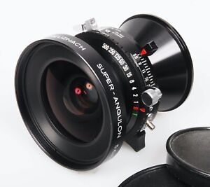 Schneider Super-Angulon 65mm f/5.6 MC large format lens 5x4 Copal 0 4x5