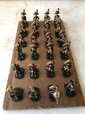 Napoleonic band 24 Pcs 1-1/2 Inches Tall Lead Toy Soldiers Tremendously Painted