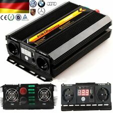 3000W/6000W Wechselrichter Spannungswandler 12V~230V  (Inverter)USB DHL YA