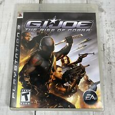 PS3 G.I. Joe The Rise of Cobra ~Complete~ Free Shipping Playstation 3