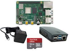 Raspberry Pi 4 Modell B 2-8GB  Bundle Set offiz.Teile+Gehäuse+Netzteil+16GB-32GB