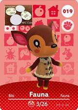 Fauna NFC Tag/Coin Amiibo Card Animal Crossing New Horizons! Free Shipping!