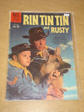 RIN TIN TIN AND RUSTY #35 VG (4.0) DELL COMICS AUGUST 1960