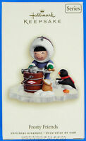 Frosty Friends Series 28th Penguin Hallmark Keepsake Christmas Ornament 2007