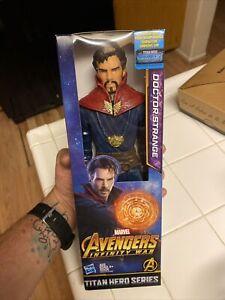 """12"""" Doctor Strange Titan Hero Series Marvel Avengers Infinity War MINT"""