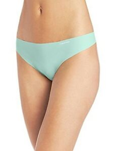 Calvin Klein Mint Invisibles Thong Panties Women's S,M,L,XL #D3428