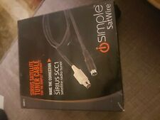 New iSimple ISSR11 Sirius Satellite Cable for SCC1 Tuner