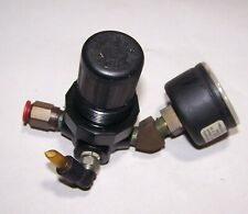 1/4 Inch Mini Air Regulator High Impact Locking Compressor With Norgren Gauge