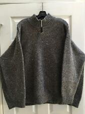 NWT Eskandar Sze 1 1x 2X Cashmere Wool Melange Handloomed Oversized Sweater SALE