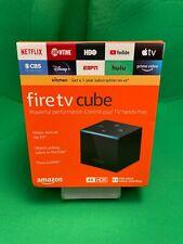 Amazon Fire TV Cube (2nd Generation) 16GB 4K UHD Media Streamer - Black NIB