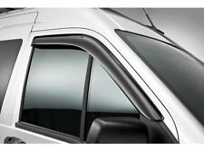 Genuine Ford Transit Connect (09/13>) Front Window Deflectors Light Grey 1852673