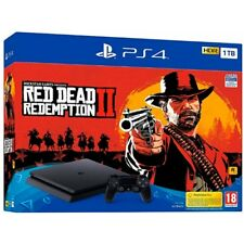 Consola Sony PS4 1TB red Dead Redemption 2