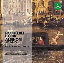 JEAN-FRANCOIS PAILLARD, ORCHESTRE DE CHAMBRE - CANON/ADAGIO CD NEW! - ALBINONI