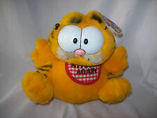 Garfield - 80's vintage plush toy ' STUFFED AGAIN ' - from Dakin - with tag
