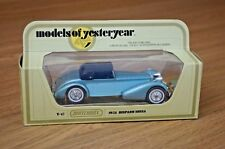 MATCHBOX MODELS OF YESTERYEAR Y17-1 1938 HISPANO SUIZA - Solid Chrome Wheels