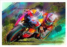 Casey Stoner MOTO GP Sticker - Pegatina - Autocollant - Aufkleber - Etichetta