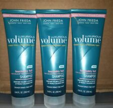 (3) JOHN FRIEDA®️ LUXURIOUS VOLUME TOUCHABLY FULL SHAMPOO 8.45 FL OZ EACH