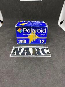 1x Polaroid high Definition 200 35mm expired film