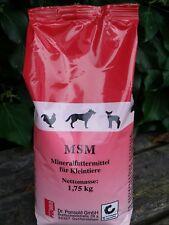 Mineralfutter Mineralstoffmischung MSM für Kleintiere Tiere aller Art 1,75 kg