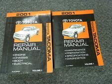 2001 Toyota Tacoma Pickup Truck Shop Service Repair Manual 2 Vol Set PreRunner