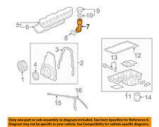 GM OEM Engine-Oil Fluid Filler Tube 12574386
