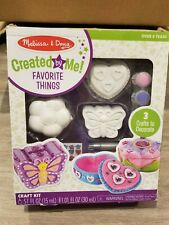 New ListingMelissa & Doug Decorate-Your-Own Favorite Things Craft Kits Set