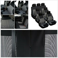 Universal Washable Fabric Car 7-Seat Seat Cover Protect Cushion Interior Styling
